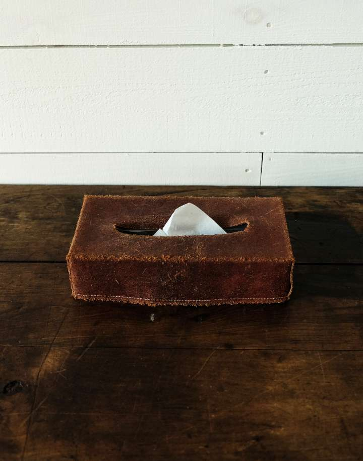 TG TISSUE BOX COVER