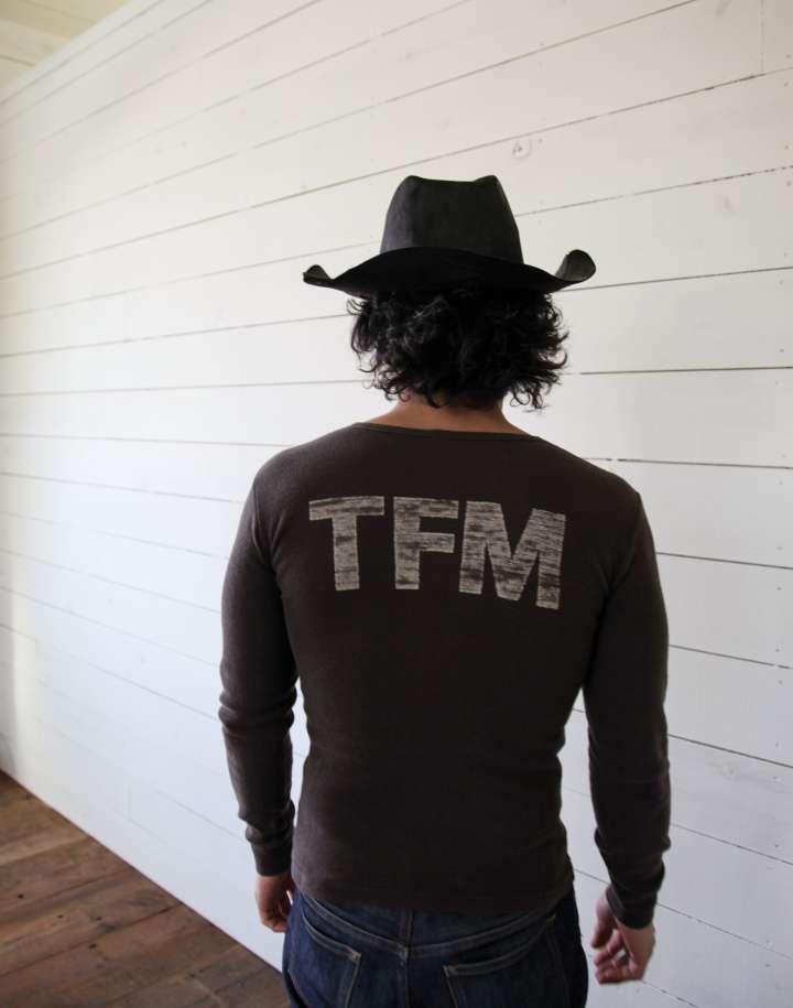 TRUCKER ヘンリーネック長袖Tシャツ<LT-002>