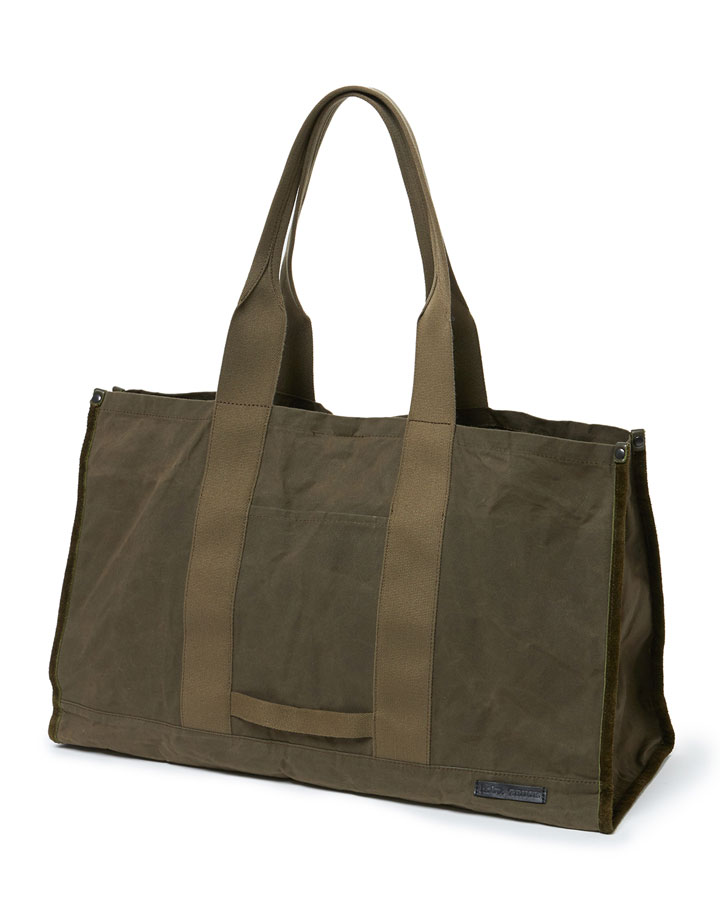 hobo×TRUCK Paraffin Cotton Canvas Utility Bag
