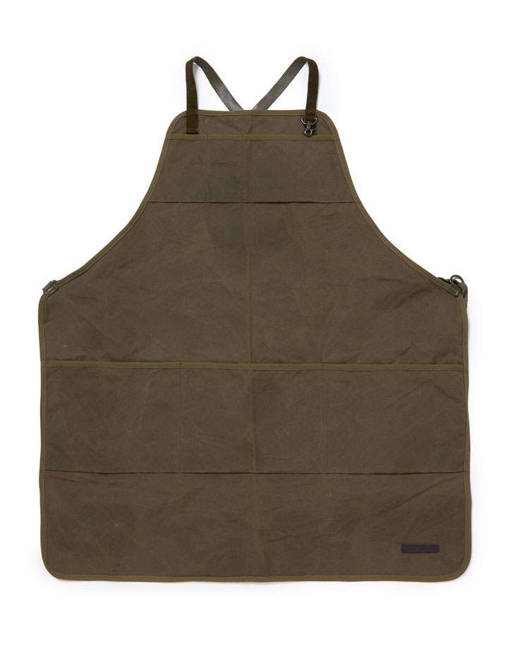 hobo×TRUCK Paraffin Cotton Canvas Apron