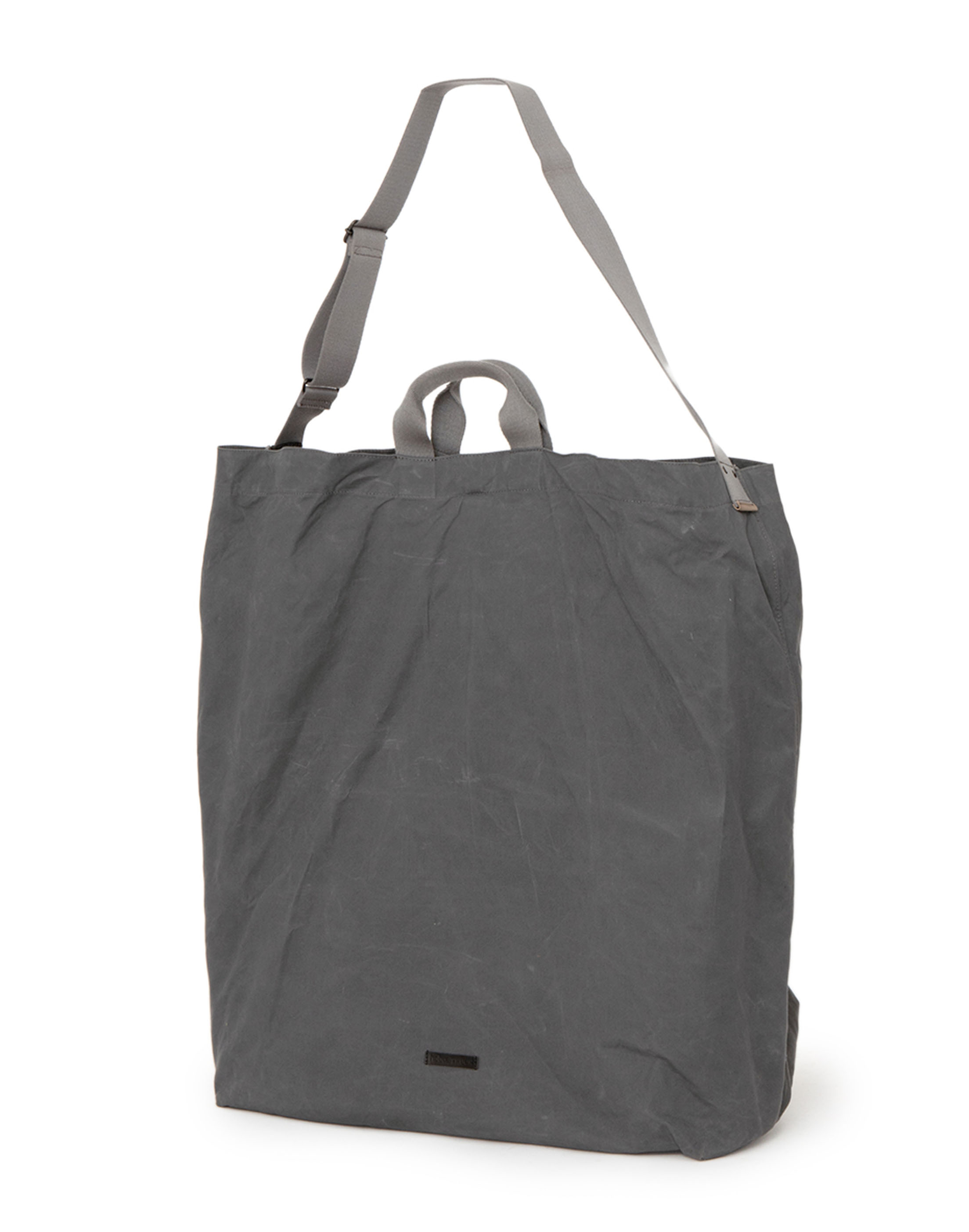 hobo×TRUCK Paraffin Cotton Canvas Giant Tote Bag